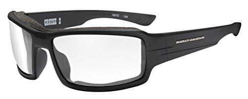 Green Mirror Lenses HAWOL10 Harley-Davidson Men/'s Wolf Bar /& Shield Sunglasses